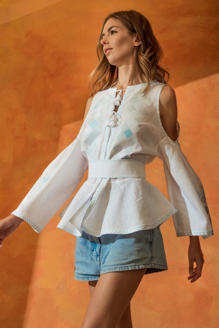 Inka Blouse in White